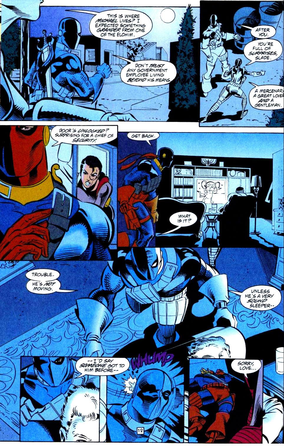 Deathstroke (1991) Issue #38 #43 - English 13