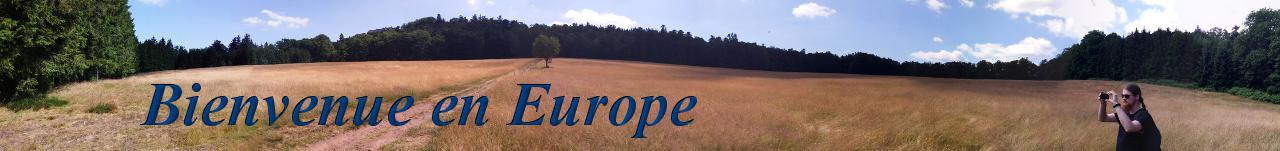 Bienvenue en Europe