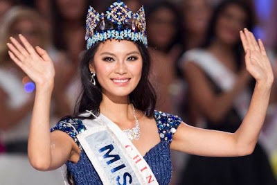 Wen Xia Yu Miss World 2012