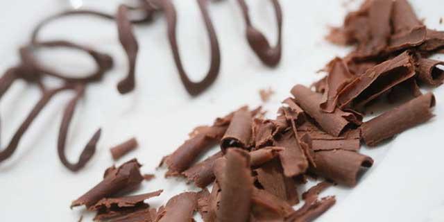 Завитки из шоколада как сделать 75