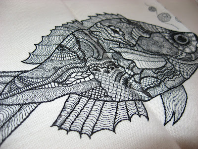 Fish Embroidery Sampler
