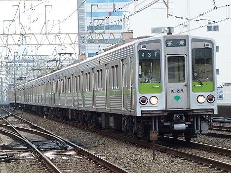 都営新宿線 京王線直通 各停 笹塚行き6 10-000形幕車200F・210F(廃車)