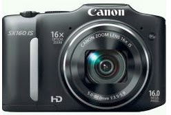 Canon PowerShot SX160 IS Features