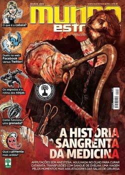 Revista Mundo Estranho A História Sangrenta da Medicina