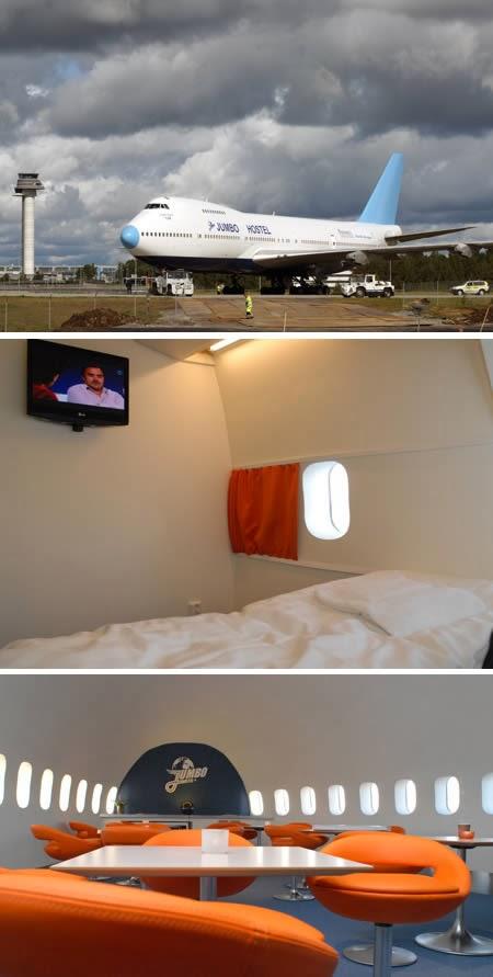 Jumbo Hostel (Stockholm): World's First Aircraft Inn