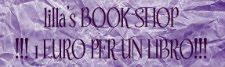 La bancarella dei miei libri  letti, tutti a € 2,00