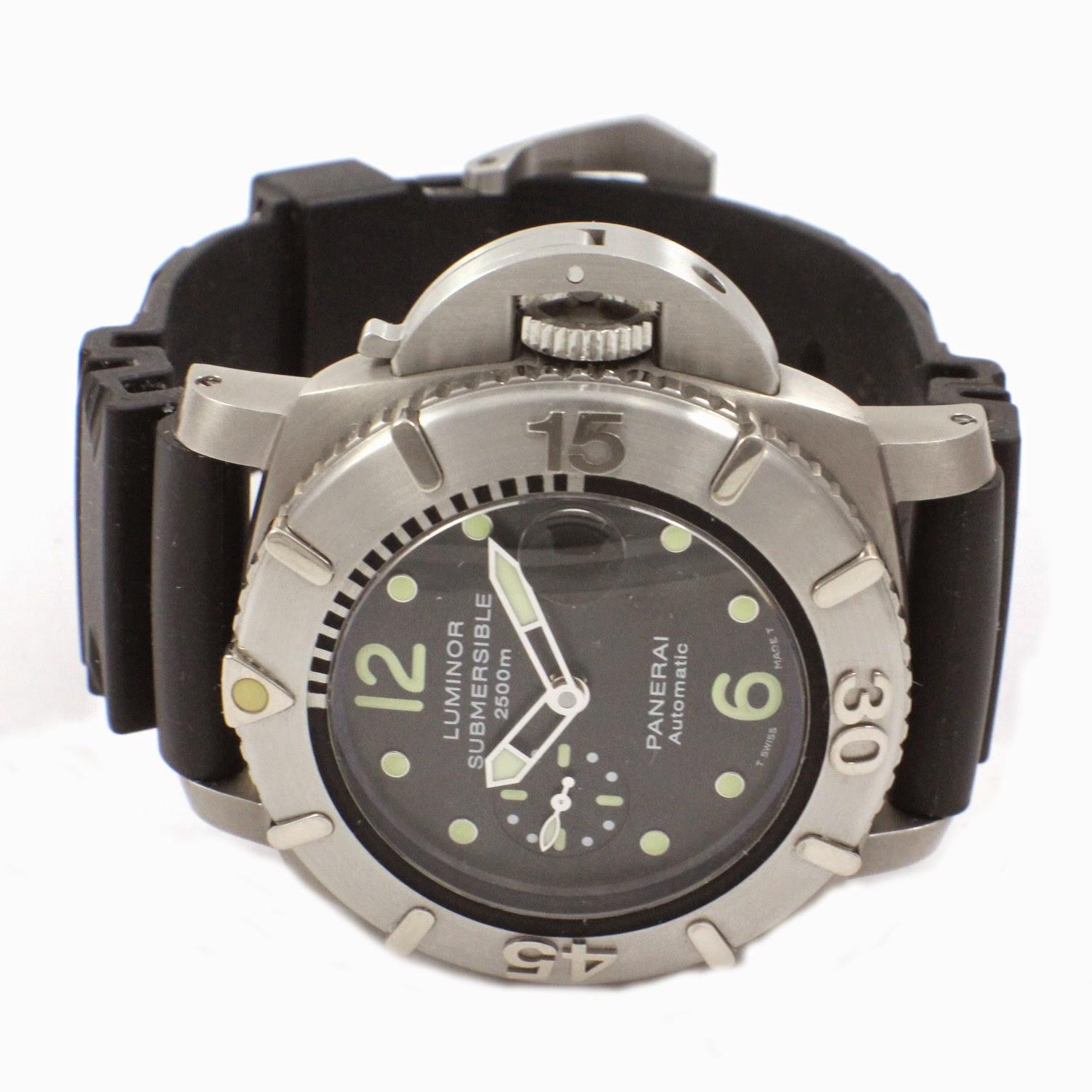 Swiss design watches 250 limited edition panerai - Panerai dive watch ...