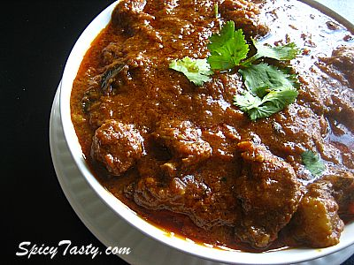 Food Recipes: Spicy Mutton Curry