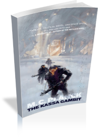 Book Cover: The Kassa Gambit by M.C. Planck