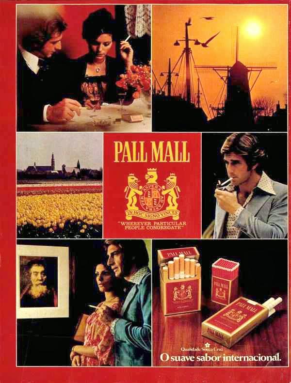 pall mall. 1978.propaganda anos 70; história decada de 70; reclame anos 70; propaganda cigarros anos 70. Brazil in the 70s. Oswaldo Hernandez;