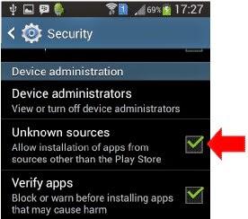 Cara Install File Aplikasi .APK pada Android