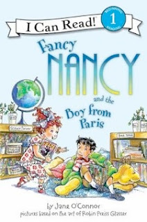 bookcover of FANCY NANCY and the Boy from Paris