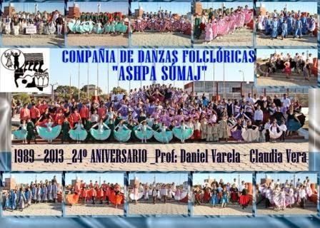 """COMPAÑÍA DE DANZAS FOLCLÓRICAS """"ASHPA SÚMAJ"""""""