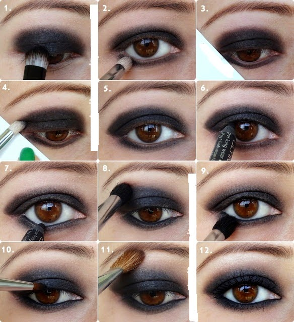 Black Smokey Eye Tutorials