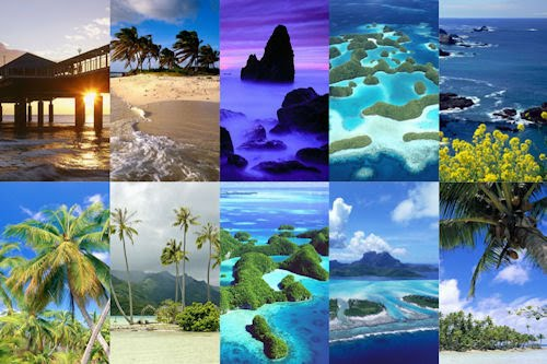 10 wallpapers de playas paradisiacas para iPad y iPad2