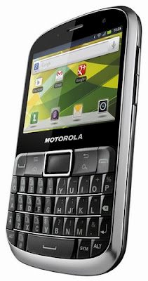 Motorola DEFY PRO QWERTY Ponsel Android Mirip Smartphone BlackBerry