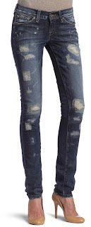 fashion skinny woman for jeans