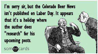 Colorado Beer News - Labor Day