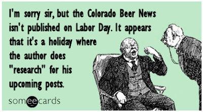 Colorado Beer News - Labor Day