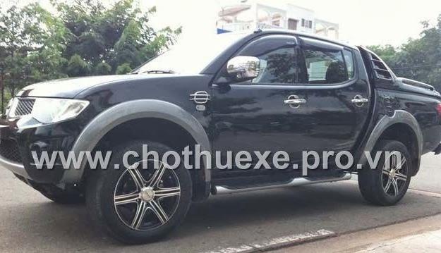 Cho thuê xe bán tải Mitsubishi Triton