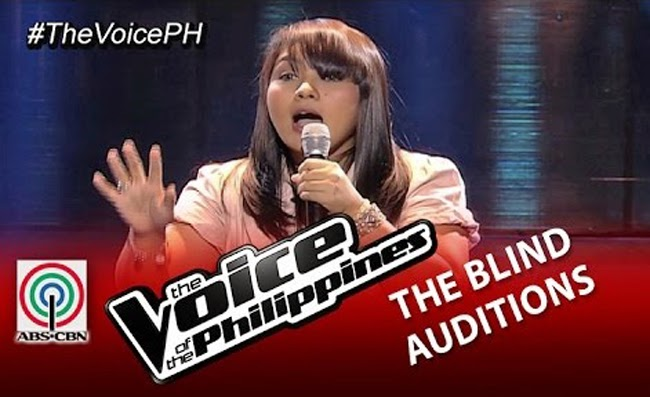 Watch Dang Del Rosario Sings 'Araw Gabi' on The Voice of the Philippines Season 2 Blind Audition Video Replay