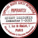 Guest Designer for Paper Artsy 2014