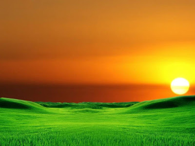 3d Landscape - Sunset Wallpapers
