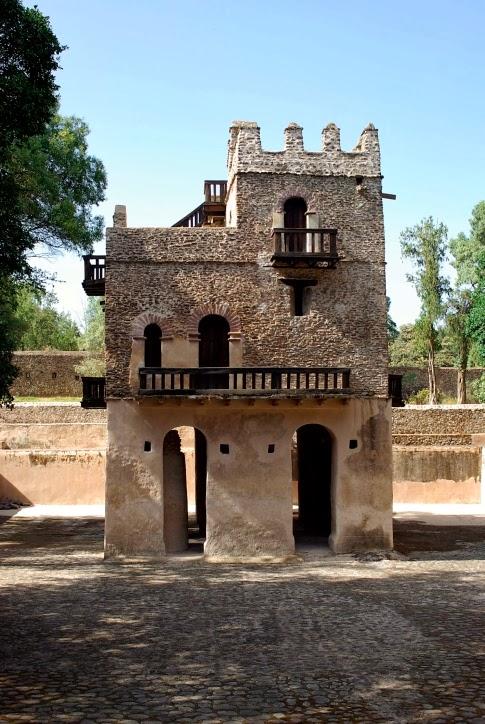 Gondar Ethiopia Palace Timkat