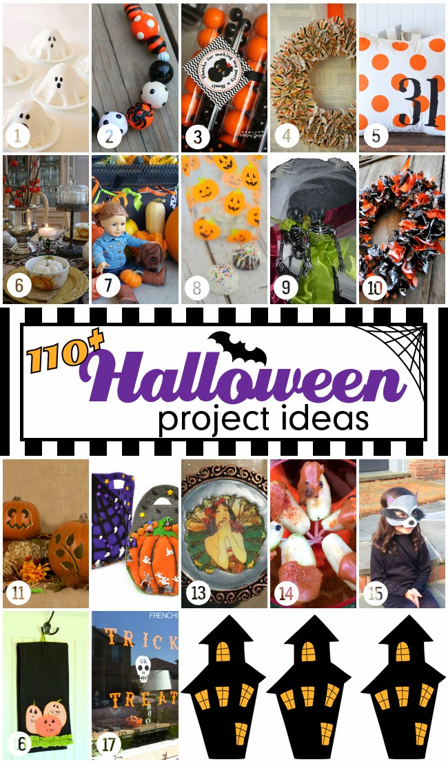 Halloween Bash Blog Hop Saturday 17 Projects | www.blackandwhiteobsession.com
