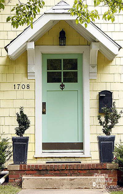 Sybaritic Spaces Front Door Color Inspiration