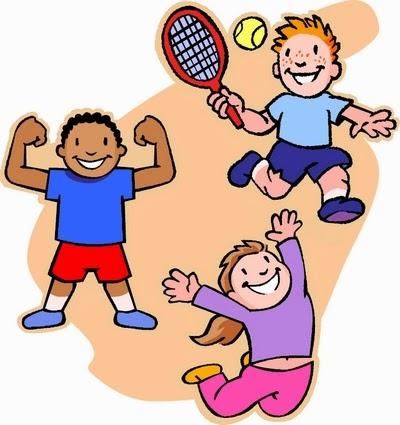 Image result for children doing pe