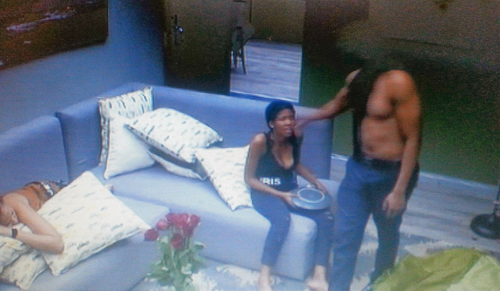 Big Brother Shower Hour Pics Of Lexi And Mandla