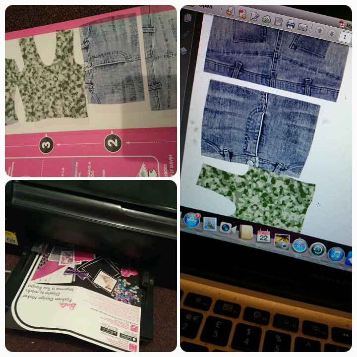 printing barbie fashion design maker