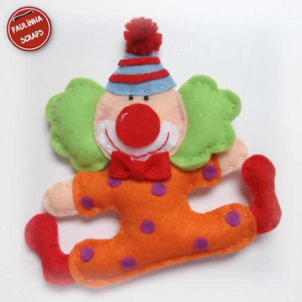 Festa da Julinha - Circo - Me aventurando com Feltro Palha%25C3%25A7o+01