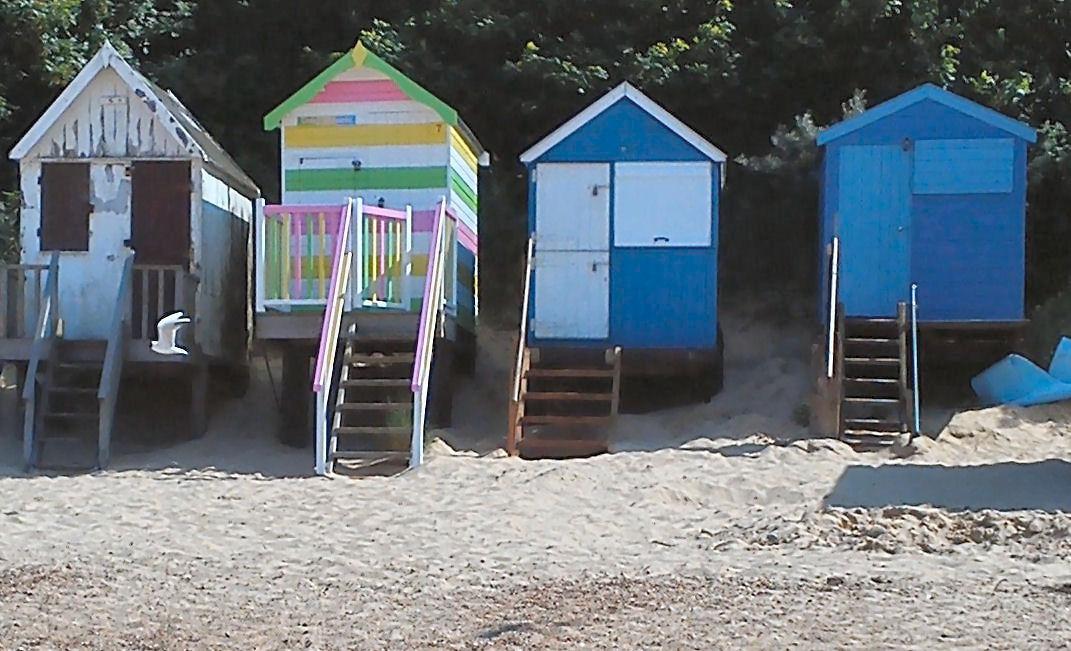 Cmyk A World Of Colour Beach Huts 2