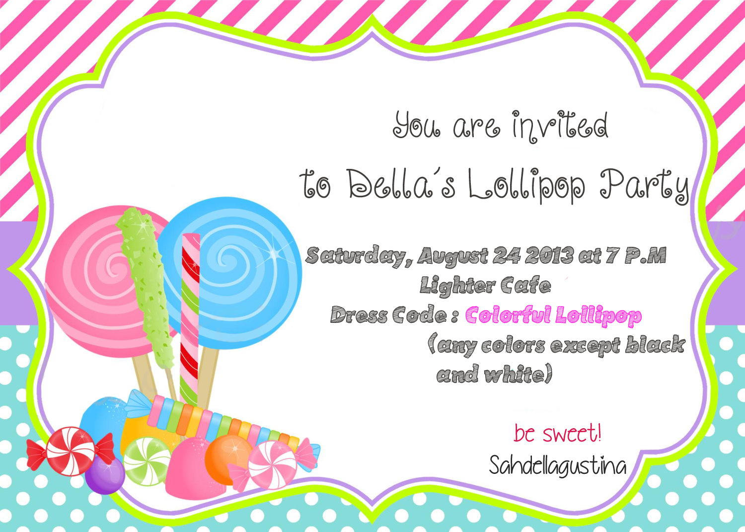 9 Birthday Party Project Design 17th Birthday Invitation and