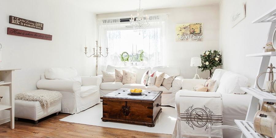 wystrój wnętrz, wnętrza, Scandinavian style, urządzanie mieszkania, dom, home decor, dekoracje, aranżacje, styl skandynawski, styl romantyczny, styl angielski, biel, miałe wnętrza, białe mieszkanie, salon
