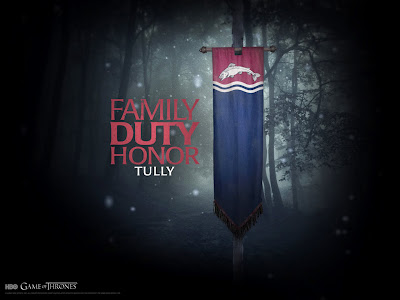 Wallpaper: Game of Thrones - Casa dos Tully