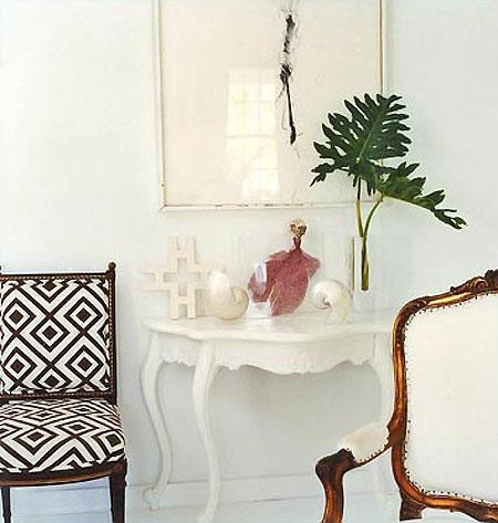 FOCAL POINT STYLING Decorating With Faux Fresh Palm Fronds