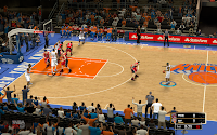 NBA 2K13 New York Knicks Court Patch