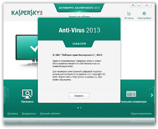 Download Antivirus Kaspersky 2013 Terbaru Full Version