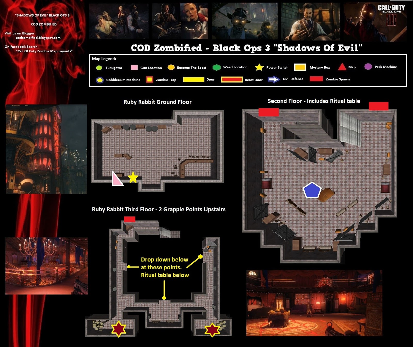 Zombified - Call Of Duty Zombie Map Layouts, Secrets, Easter Eggs ...