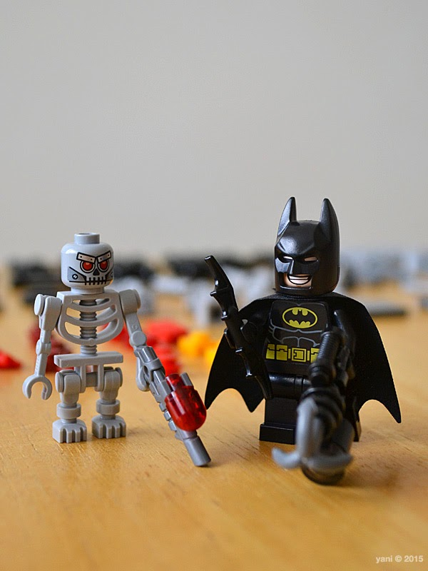 lego: batman and super angry kitty attack - bats and skelly