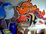 Painéis de aniversário de mesa, Nemo