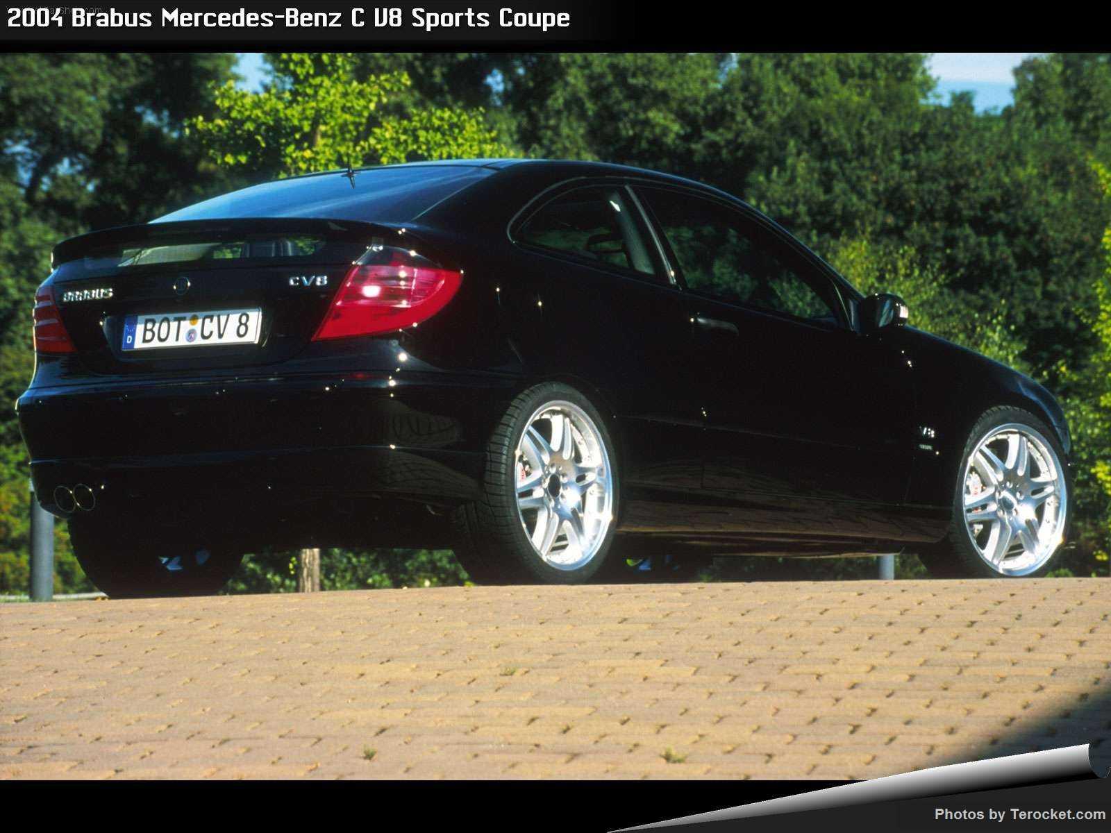 Hình ảnh xe ô tô Brabus Mercedes-Benz C V8 Sports Coupe 2004 & nội ngoại thất