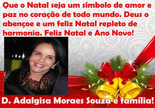 D. ADALGISA MORAES SOUZA E FAMÍLIA