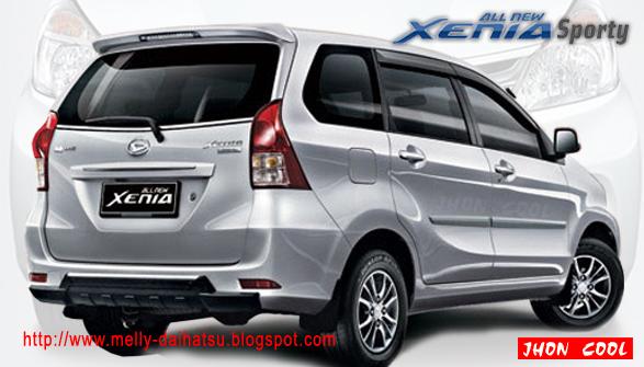 Daihatsu Xenia Specification