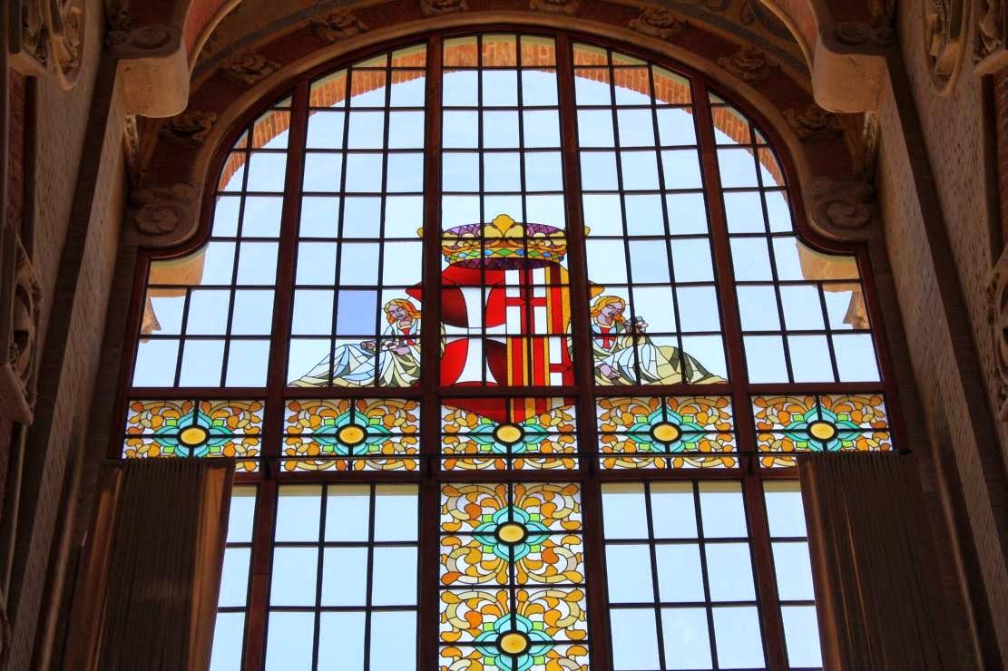 Domènech i Montaner room in Hospital de Sant Pau