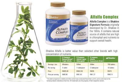 alfalfa complex shaklee shaina shop picture
