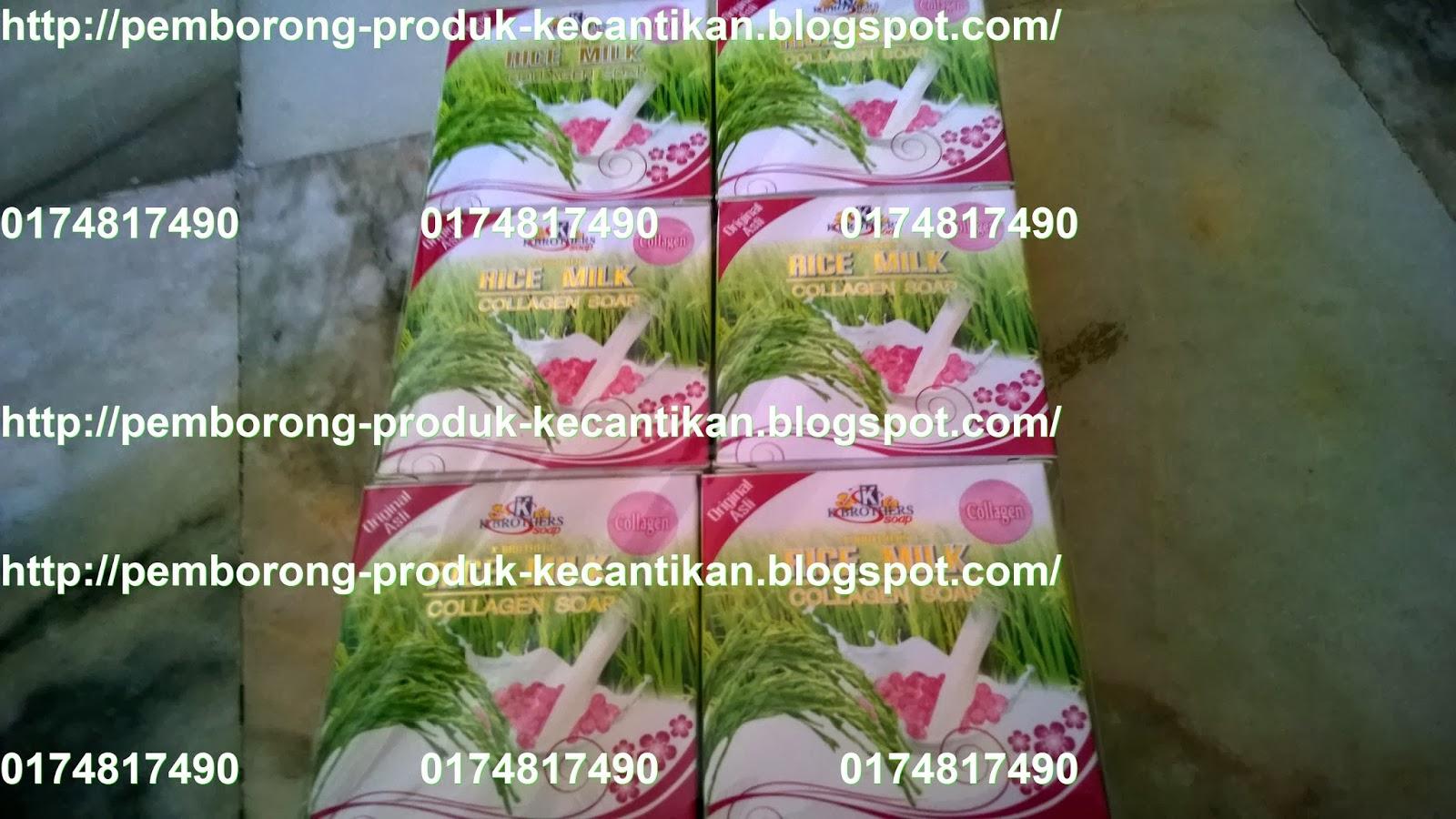 Menawarkan Produk Kecantikan Serta Kesihatan Dengan Harga Murah Sabun Susu Collagen Beras K Brothers